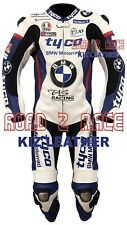 BMW TYCO Motorcycle / Motorbike Racing Cowhide Leather Suit 1 & 2 PCS
