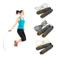 Adjustable Skip Rope Speed Jump Rope For Boxing Fitness Aerobic Skipping Rope JN