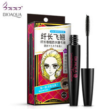 BIOAQUA Brand Makeup Eyelashes Mascara Eyes long lasting Cosmetics Fiber Lashes