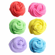Kids Fluffy Floam Moulding Plasticine Puff Slime Stress Play Toy Relief Putty