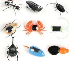 Toys Solar Ant Insect Kids Cockroach Magic Solar Powered Learn Children Gift