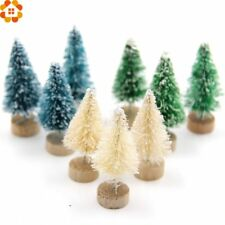 DIYHouse® 15PCS/Lot DIY Christmas Tree 3Colors Small Pine Tree Mini Trees Placed