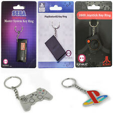 New Retro Console Keyring Key Chain Playstation Sega Official Numbskull Gamer UK