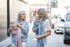 Pure Linen Ring Sling Baby Carrier by Leather Baby Co