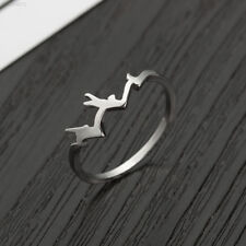 BCDC Mountain Shape Finger Ring Christmas Gifts Charm Ring