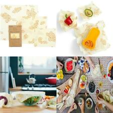 Bee's Wrap Assorted 3 Pack, Eco Friendly Reusable Beeswax Food Wraps,...