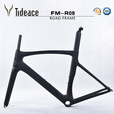 700C Carbon Fiber Road Bicycle Frame T800 Carbon Cycle Cycling Bike Frameset OEM