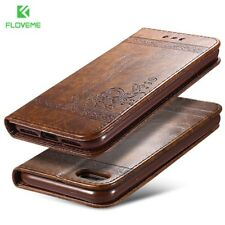 FLOVEME Phone Bag Cases For iPhone 7 6 6s Plus Leather Stand Wallet Mobile Phone