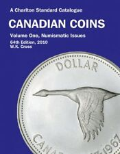 CANADIAN COINS - VOL. ONE: NUMISMATIC ISSUES 2010, 64TH ED. By W. K. Cross *VG+*
