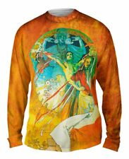 Yizzam- Alphonse Mucha-8th Sokol Festival-1912 - New Mens Long Sleeve Tee Shirt