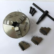 """1-8 TPI Adaptor or 3"""" 3 Jaws Self-centering Chuck Lathe Parts Wood Chuck"""