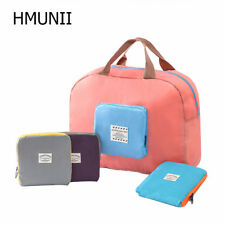 HMUNII® NEW Packable Carry On Bag Travel Tote Sports Gym Duffle Weekender