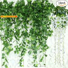 GuassLee Artificial Ivy Leaf Garland Plants Vine - 84 Ft-12 Pack Greenery Fake F