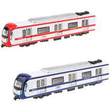 Simulation Alloy Pull Back Train with Realistic Sounds Toy for Kids Age 3+
