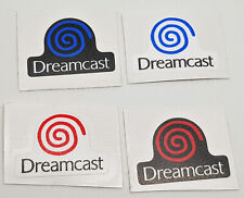 Sega Dreamcast Logo Replacement for Console Blue Red Swirl Decal Sticker Sports