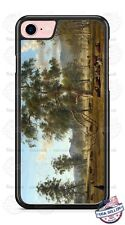 Country Cow herd Resting Design Phone Case for iPhone Samsung Google LG etc