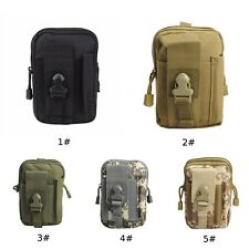 Military Waist Belt Bum Bag Jogging Running Travel Pouch Keys Practical Portable
