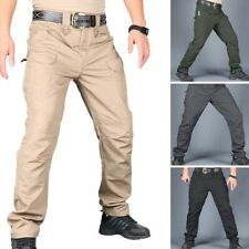 Pants Men Hiking Combat Quick Dry Lightweight Cargo Camping Outdoor Trousers
