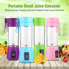 Portable 400ml USB Electric Fruit Juicer Smoothie Maker Blender Shaker Bottle