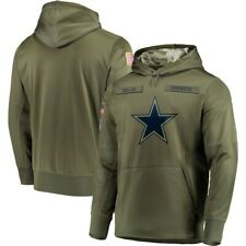 Dallas Cowboys Hooded Sweater Thicken Unisex Football Training Hoodie