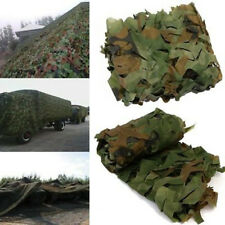 Woodland Jungle Camouflage Netting Army Camo Outdoor Hunting Hide Cover Net