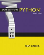 STARTING OUT WITH PYTHON (2ND EDITION) (GADDIS SERIES) **Mint Condition**