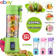 BlendJet One 400ml Portable Juicer USB Rechargeable Smoothie Blender Mixer