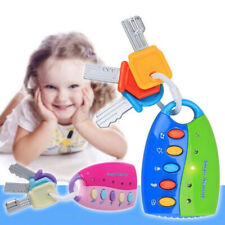 NO Battery Car Key Toy Remote Control Educational Toy Key for Kids Baby Toddle