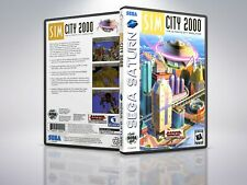 SimCity 2000 - Saturn - Replacement - Cover/Case - NO Game