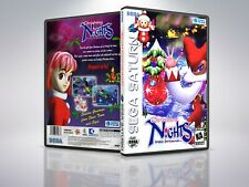 Christmas Nights into Dreams- Saturn - Replacement - Cover/Case - NO Game PAL/US