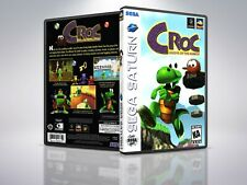 Croc: Legend of the Gobbos - Saturn - Replacement - Cover/Case - NO Game PAL/US