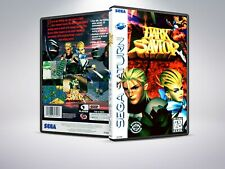 Dark Savior - Remplacement - Saturn - Cover/Case - NO Game