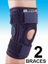 2 Knee Brace Support by Flexibrace Patella Stabilizer Sizes Small to X-Large