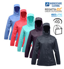 Regatta Ladies Women Packaway Pack it Waterproof & Breathable Jacket FREE POST