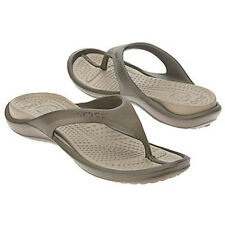 Croc's 'Athens' Brown Unisex Thong Sandals (See Sizes)
