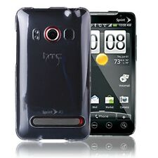 HTC EVO 4G Colorful Design CRYSTAL CLEAR Hard Case Cover Phone Accessory