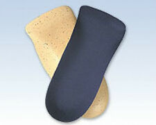 Soft Point 3/4 Arch Support Cork Foot Shoe Insole Pain