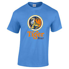 Tiger Beer 100% pre-shrunk Cotton T-Shirt