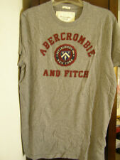 Abercrombie or Hollister  Mens T-shirt M L NEW Canvas Applique
