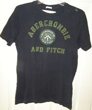 Abercrombie Mens T-Shirts 7 styles& Colors Canvas Applique V-neck Round neck