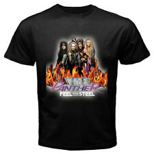 New Feel THE STEEL PANTHER Metal Rock Band Mens Black Tee T-Shirt Size S - 3XL