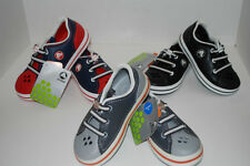 NWT CROCS CROCBAND SNEAKER KIDS GRAPHITE GREY BLACK NAVY RED 7 8 9 10 11 12 13