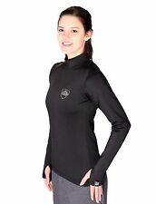 GO Athletics Women's Cold Weather Gear Thermal Base Layer SHIRT