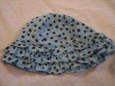 NWT Girl's Gymboree Island Beauty blue & brown hat ~ 0 3 6 12 18 months