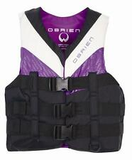 O'Brien 3 BUCKLE PRO Ladies Buoyancy Vest, S or XS, Purple / Blue. 28190