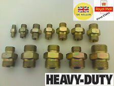 Hydraulic Adapter Fitting male x male  for Hydraulic Pump & Valve BSP Thread