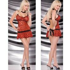 Sexy Lingerie Chemise Babydoll + G string size Red 14 16 18 Wedding