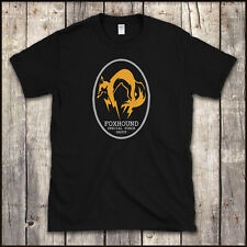 METAL GEAR SOLID - FOXHOUND SPECIAL FORCE GROUP T SHIRT Video Game XBox PS3
