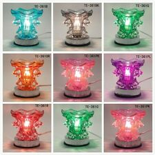 Glass Electric Dolphin Scent Oil Fragrance * Touch Lamp * Burner Warmer Diffuser