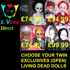 CHOOSE YOUR LIVING DEAD DOLL/DOLLS (EXCLUSIVE DOUBLES)  RARE (A)